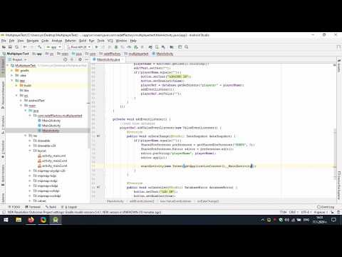 Create Multiplayer Game Using Firebase In Android Studio
