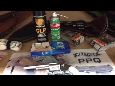 What I Use For Gun Cleaning!