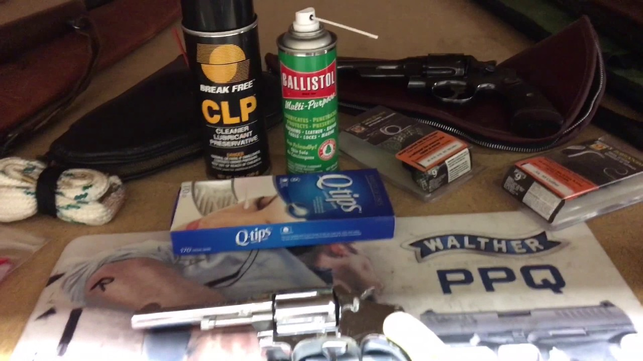 how to use gun cleaning picks
