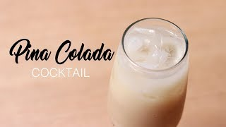 Pina Colada Cocktail Homemade Refreshing Drink