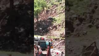 Dhanni Noseri water fall neelam valley kashmir visited by autopak family tour