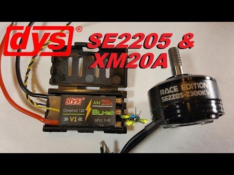 DYS SE2205 Motors & XM20A ESCs & the TC-R260 Frame