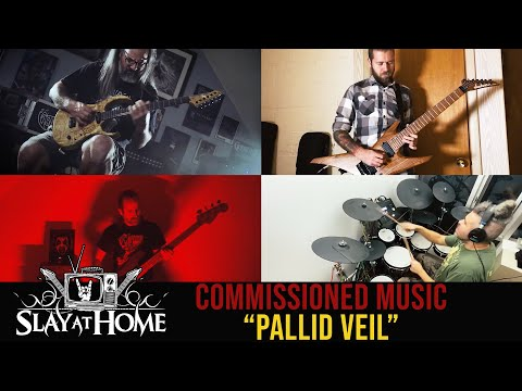 """""""Pallid Veil"""" feat. GORGUTS + REVOCATION + CARBOMB + AZUSA at Slay At Home Fest 