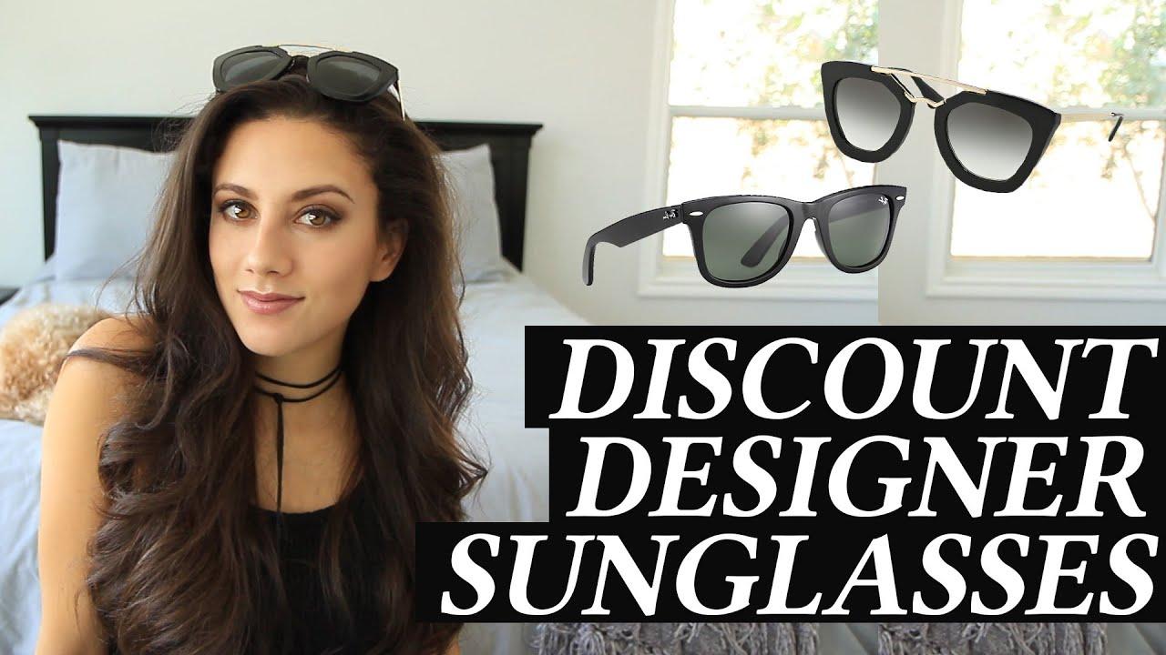 7be2704e992b Where I Buy Designer Sunglasses and Prada Unboxing - YouTube