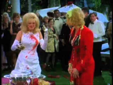 Cybill & Morgan Fairchild food fight 2