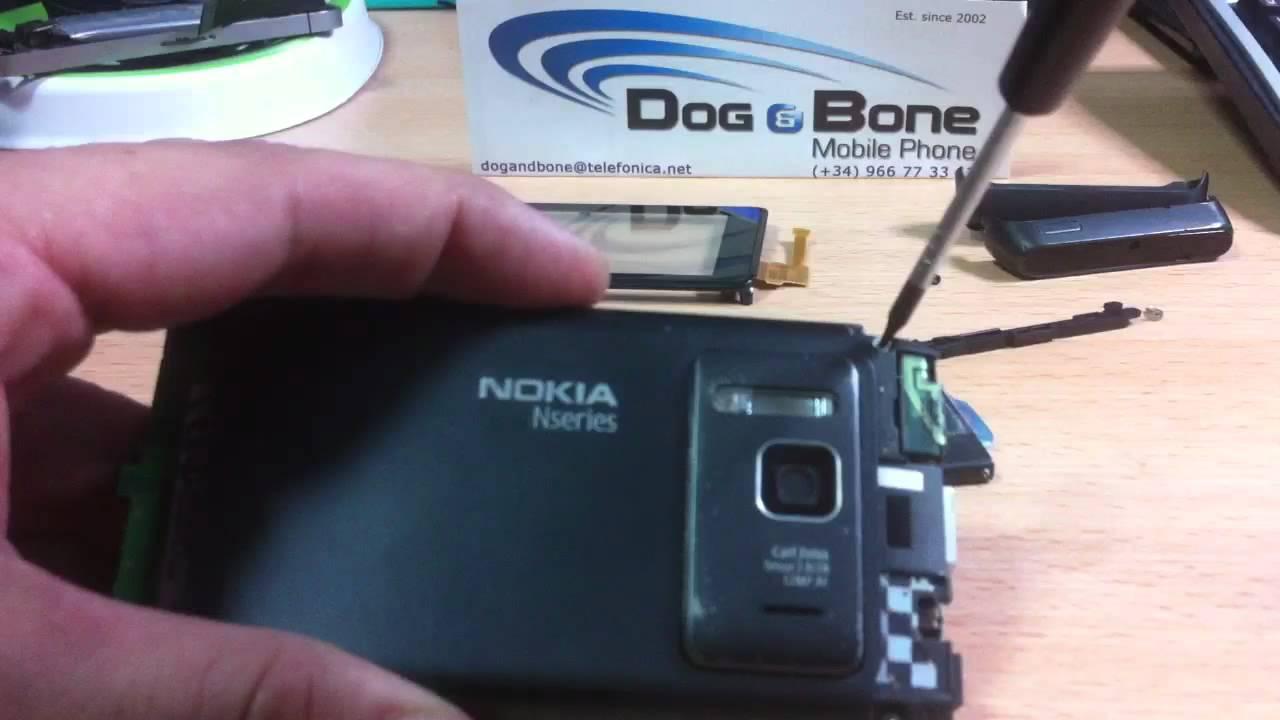 Download Cambiar táctil/LCD Nokia N8