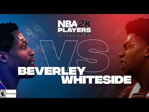 NBA2K Tournament Full Game Highlights: Hassan Whiteside vs. Patrick Beverley
