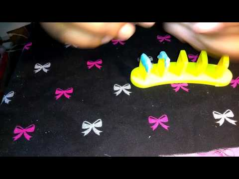 DIY how to make your own Nail Art Stand/Sticks | for Fake Nails & Practice
