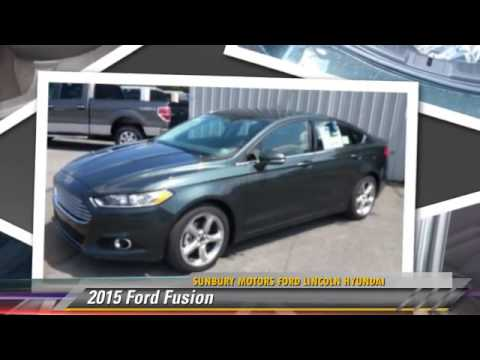2015 Ford Fusion Sunbury Pa Fb758 Youtube
