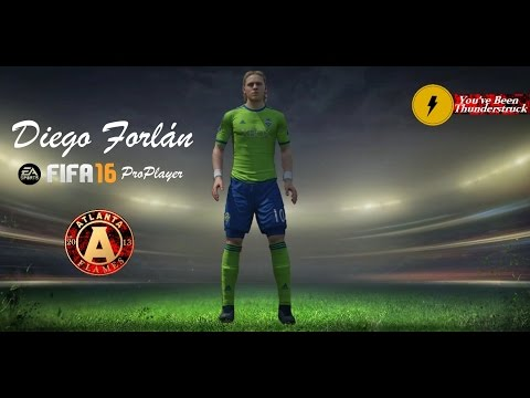 FIFA 16 Pro-Player Diego Forlán Top 10 Goals