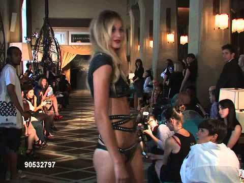 Agent Provocateur Soir e Fashion S Runway and Backstage Model walks runway ...