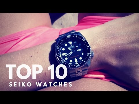 TOP 10 ICONIC SEIKO WATCHES - The BEST of Seiko mens watches revealed !