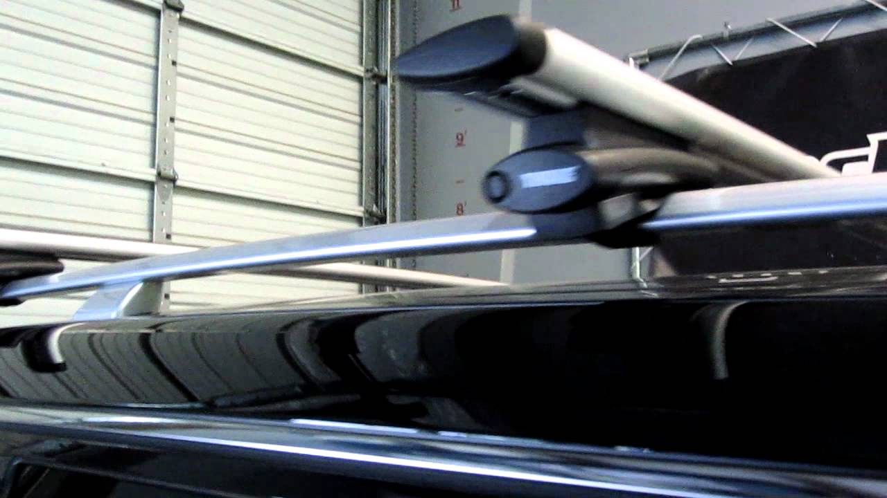 2012 Infinity Qx56 With Thule 450r Crossroad Aeroblade