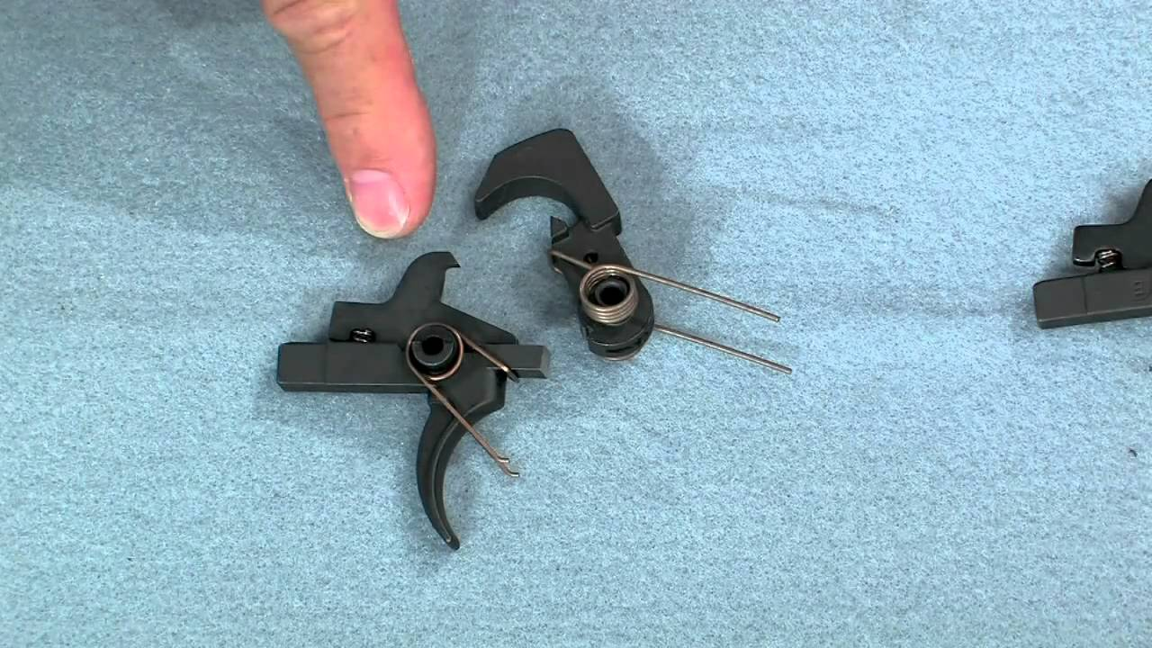 how the ar 15 trigger functions how to upgrade it presented by larry potterfield of midwayusa youtube [ 1280 x 720 Pixel ]