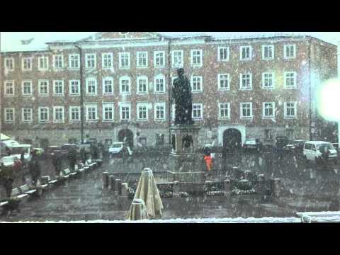 Christmas Museum and Snow in Salzburg   Austria   April 2016