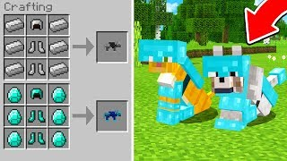 HOW TO GET WOLF/CAT ARMOR IN MINECRAFT!