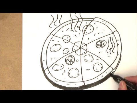Worksheet. como dibujar una pizza  como dibujar una pizza paso a paso  YouTube