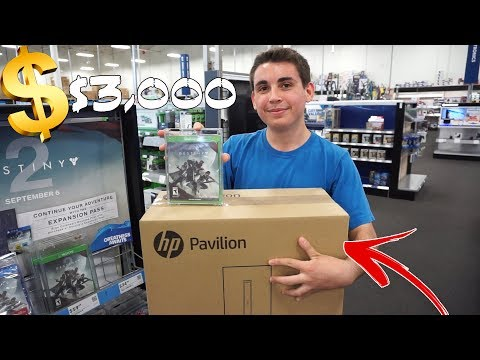 BUYING MY FRIEND A $3,000 GAMING PC!