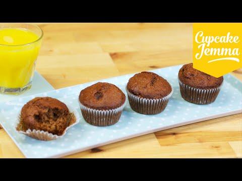 Quick & Easy Breakfast Muffin Recipe   Cupcake Jemma