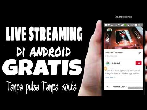 Wajib Dicoba Cara Nonton Tv Di Android Gratis Tanpa Pulsa Dan Kouta
