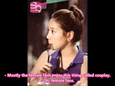 [Eng Sub]12.27.10 SNSD Kim Minhwa Radio Taeyeon Interview