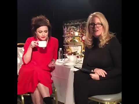 Helena Bonham Carter and Suzanne Todd on Alice Through The Looking Glass