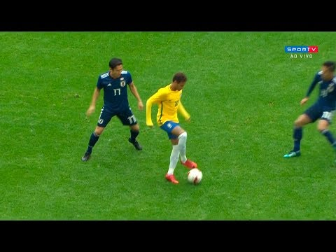 Neymar Vs Japan (Friendly) HD 1080i (10/11/2017)