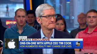 Apple CEO Tim Cook 'encouraged' by President Trump's movement on Dreamers   ABC News