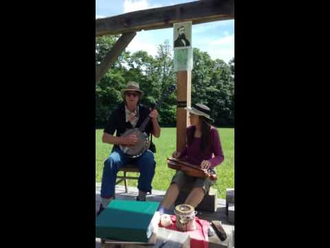 Jeff Hinich, Thoreau song with Will Elwell and Rochelle Wildfong 7/11/2016