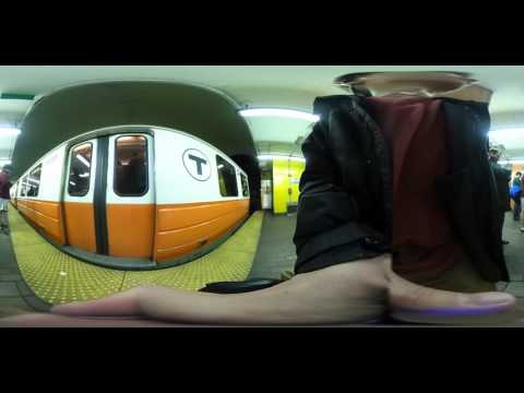 VR 360 Orange Line State St Boston