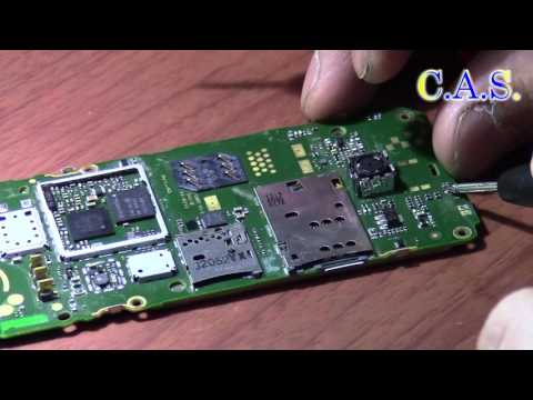 Nokia 206 - нет подсветки дисплея(От КАС)