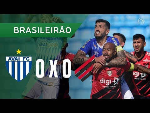 Avai Florianopolis Atletico-PR Goals And Highlights