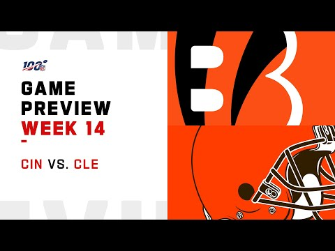 Cincinnati Bengals Vs Cleveland Browns Week 14 NFL Game Preview