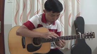 (Hari Won) Hương đêm bay xa (with TAB) - Fingerstyle Guitar Cover by Tran Quoc Huy