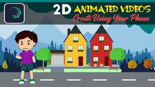 Create 2D Animated Videos in Alight Motion screenshot 3