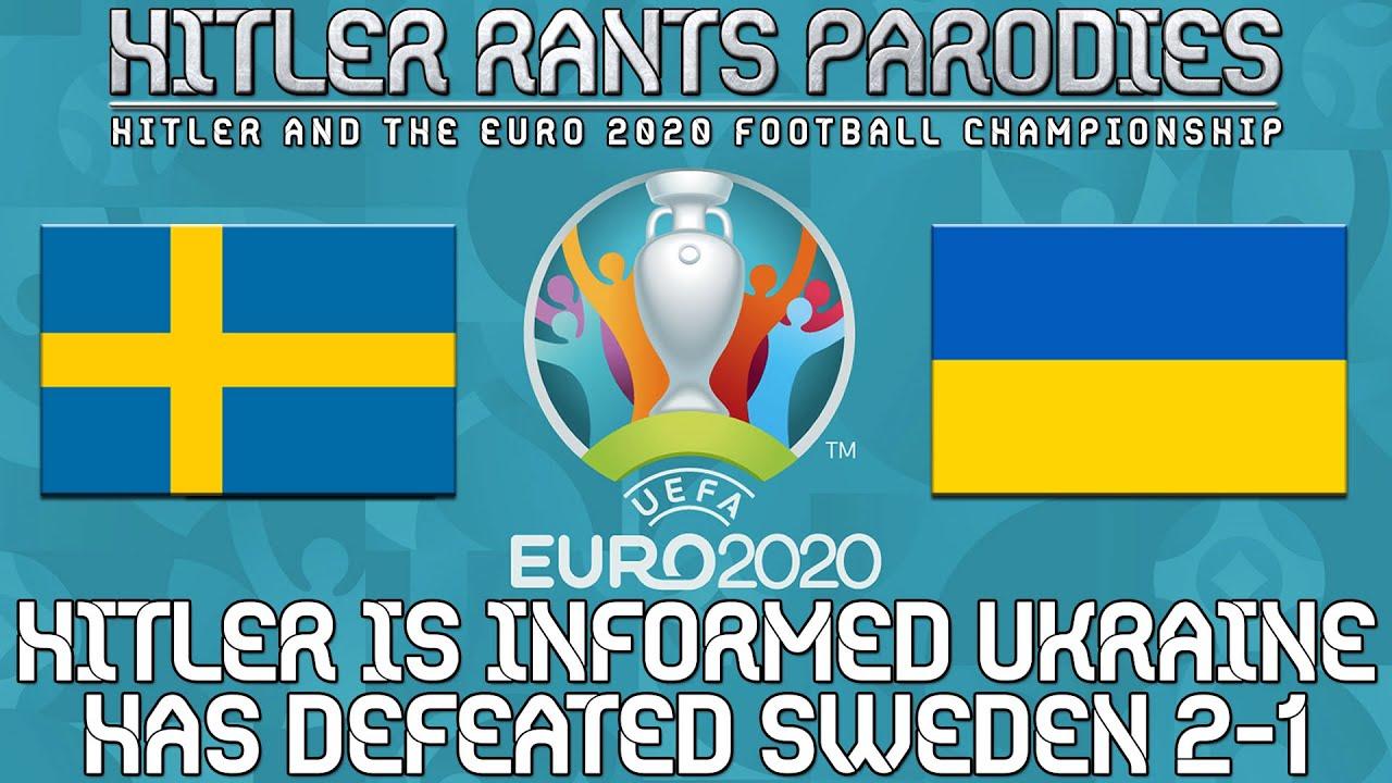 Hitler is informed Ukraine has defeated Sweden 2-1