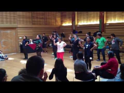 Maori Haka Performance at First People