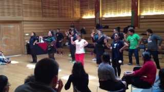 Maori Haka Performance at First People