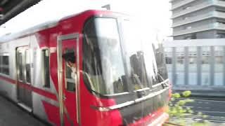 名鉄9500系9505F(新車) 単独回送 名鉄岐阜駅発車