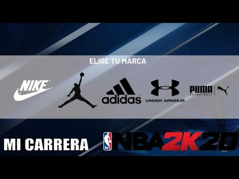 Crudo Cervecería Verter  NBA 2K20 MI CARRERA: ¿NIKE, JORDAN, ADIDAS, UNDER ARMOUR, PUMA? #7 - YouTube