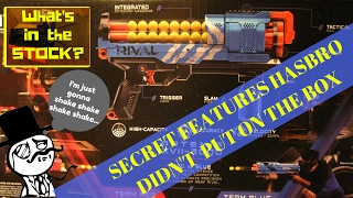 Nerf Rival Artemis 3000 Secrets Hasbro Didn