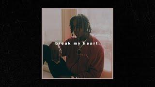 Free Polo G Type Beat - ''Break My Heart'' | Sad Emotional Piano Instrumental 2020