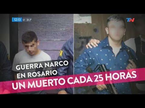 Guerra narco en Rosario Un muerto cada 25 horas