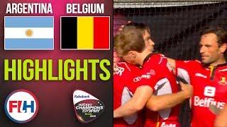 Argentina v Belgium   2018 Men's Hockey Champions Trophy   HIGHLIGHTS