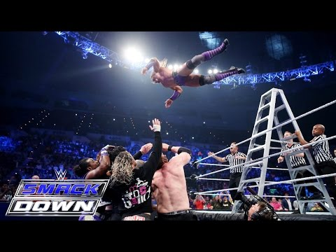 Roman Reigns, Randy Orton & Neville vs. Sheamus, Kane & Kofi Kingston: SmackDown, June 11, 2015