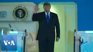US President Trump Arrives in Vietnam for Second Summit with Kim