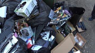 Мои находки в мусорных баках Смартфоны Деньги Айфоны паяльная станция и многое другое