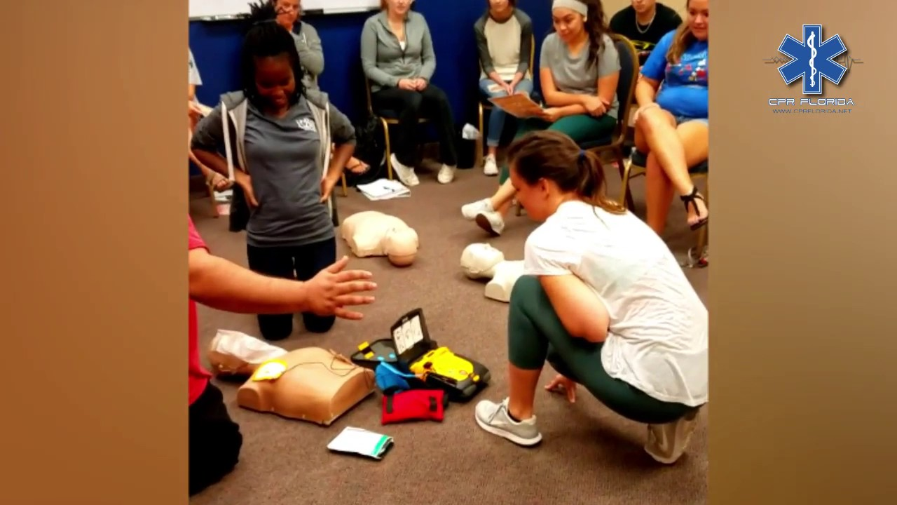 Cpr florida bls real live cpr aed situation youtube cpr florida bls real live cpr aed situation xflitez Images