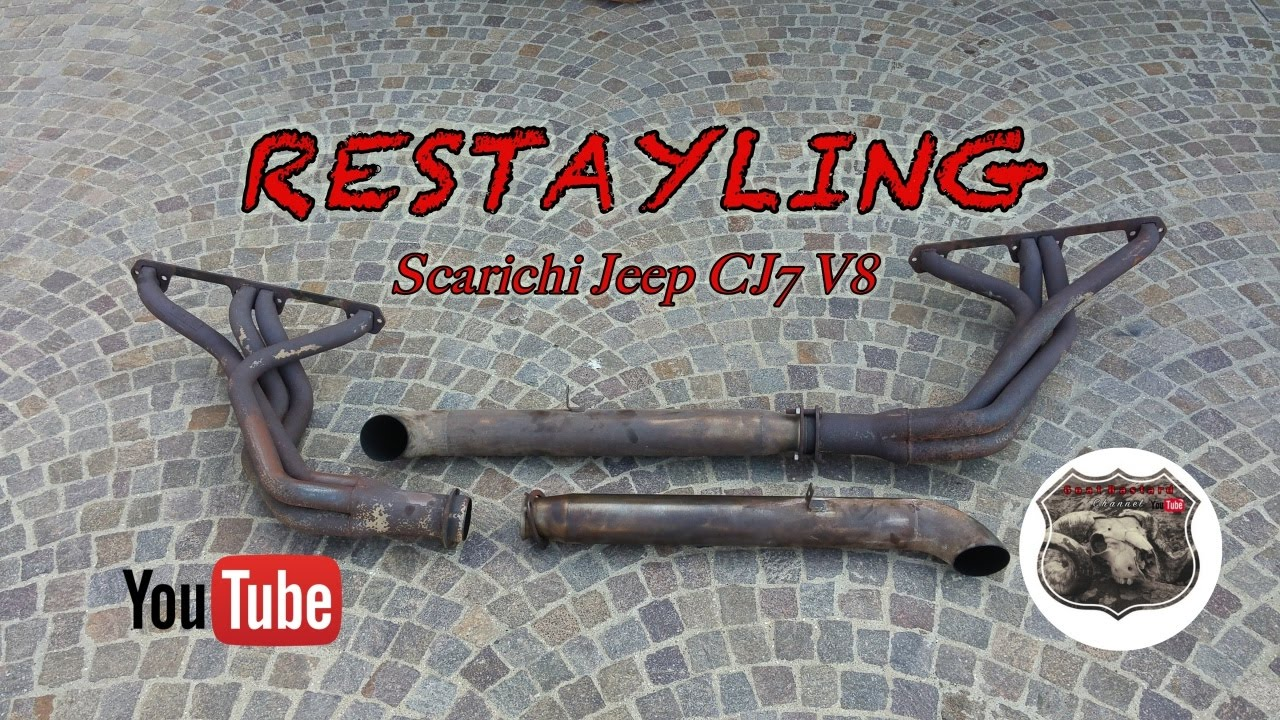 small resolution of restyling scarichi jeep cj7 v8