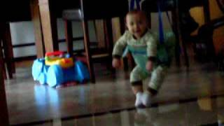 crazy hardcore extreme johnny jumper baby moves lol hilarious